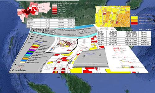 รูปแบบของการประมวลผลเพื่อนำเสนอข้อมูลปรากฏการณ์ทางพื้นที่